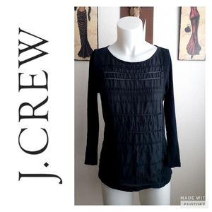 Black long sleeves J.Crew top size XS